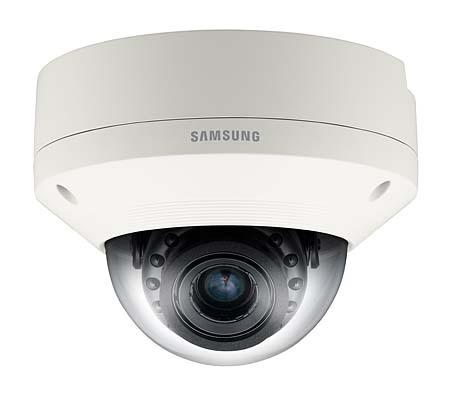 Уличная защищенная купольная IP камера Wisenet (Samsung) SNV-6084RP