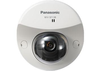 Купольная IP камера Panasonic WV-SF138