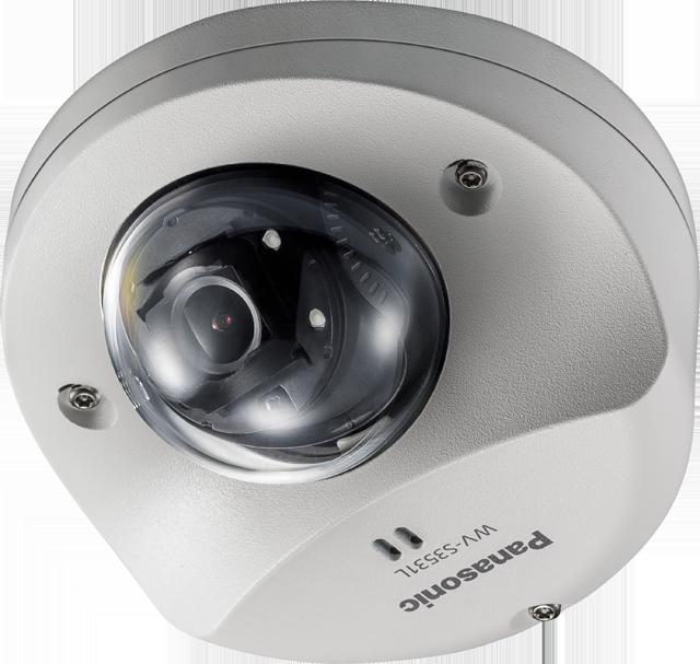Компактная купольная IP-камера Panasonic WV-S3531L