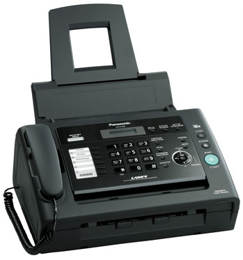 Факс Panasonic KX-FL423RUB